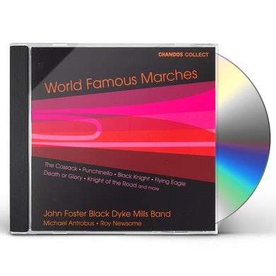 Black Dyke Mills Band WORLD FAMOUS MARCHES CD