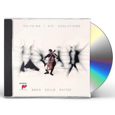 Yo-Yo Ma SIX EVOLUTIONS - BACH: CELLO SUITES CD