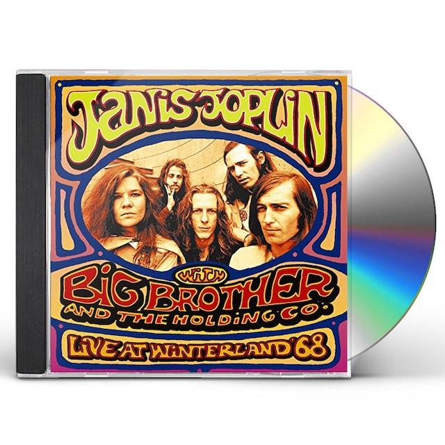 Janis Joplin LIVE AT WINTERLAND 68 CD