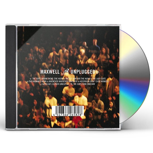 Maxwell MTV UNPLUGGED CD