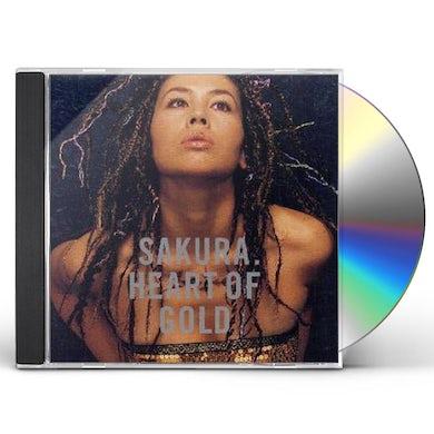 sakura HEART OF GOLD CD