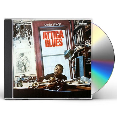 Archie Shepp ATTICA BLUES CD