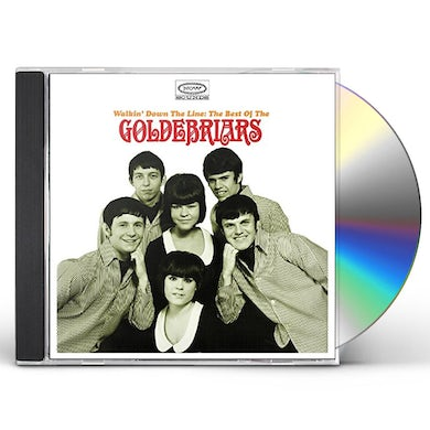 WALKIN' DOWN THE LINE: THE BEST OF THE GOLDEBRIARS CD