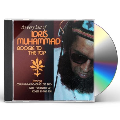 Idris Muhammad BOOGIE TO THE TOP: VERY BEST OF CD