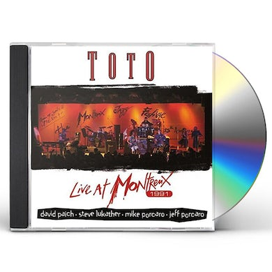 Toto LIVE AT MONTREUX 1991 CD