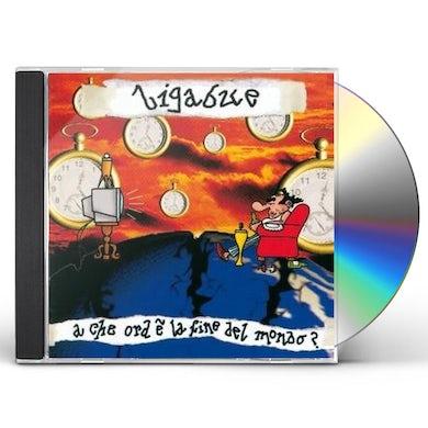 Ligabue CHE ORA E LA FINE DEL MONDO CD