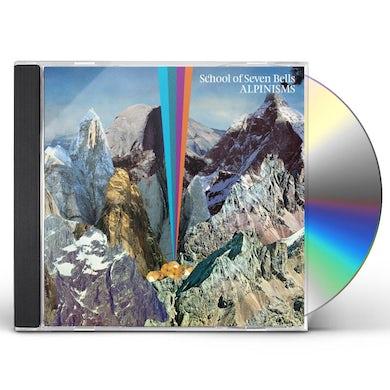 School Of Seven Bells ALPINISMS CD
