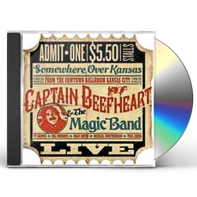 Captain Beefheart LIVE IN COWTOWN KANSAS CITY 22ND APRIL 1974 CD