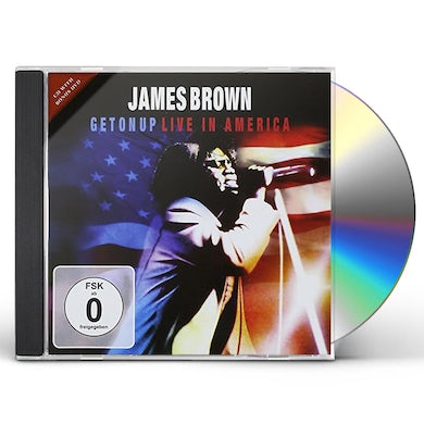 James Brown GET ON UP: LIVE IN AMERICA CD