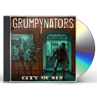 Grumpynators CITY OF SIN CD