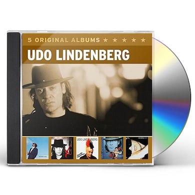 Udo Lindenberg 5 ORIGINAL ALBUMS 3 CD