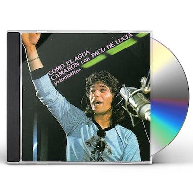 Camaron De La Isla COMO EL AGUA CD
