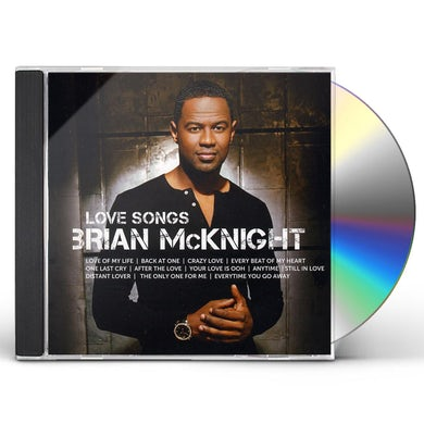 Brian Mcknight ICON LOVE SONGS CD