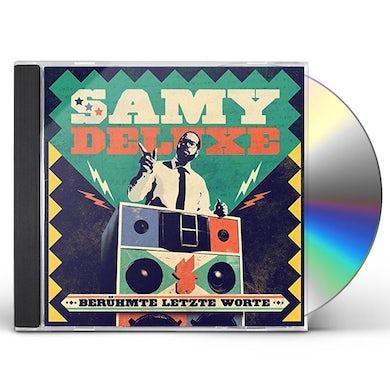Samy Deluxe BERUEHMTE LETZTE WORTE CD