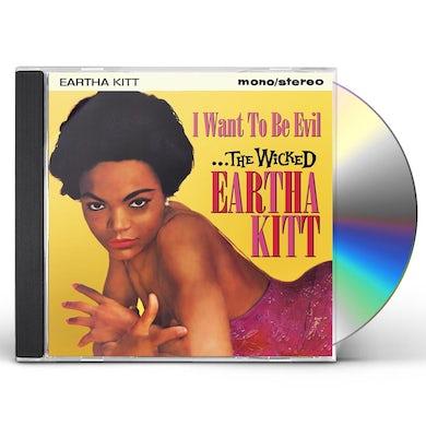 WICKED EARTHA KITT: I WANT TO BE EVIL CD