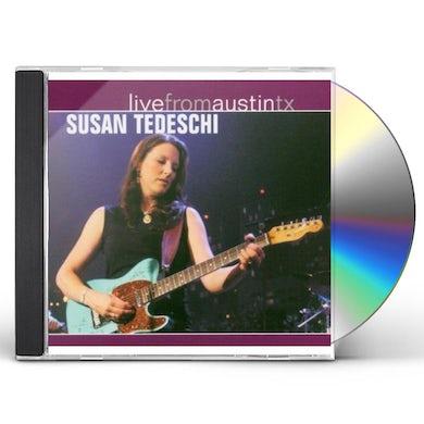 Susan Tedeschi LIVE FROM AUSTIN TEXAS CD