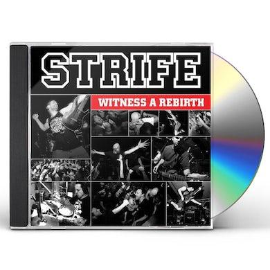Strife WITNESS A REBIRTH CD