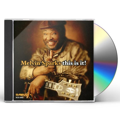 Melvin Sparks THIS IS IT CD