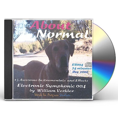 William Verkler ABOUT NORMAL CD