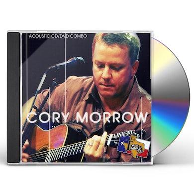 Cory Morrow LIVE AT BILLY BOB'S TEXAS: ACOUSTIC CD