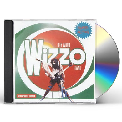 Roy Wood SUPER ACTIVE WIZZO CD