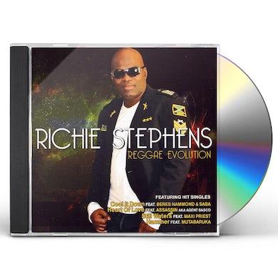 Richie Stephens REGGAE EVOLUTION CD