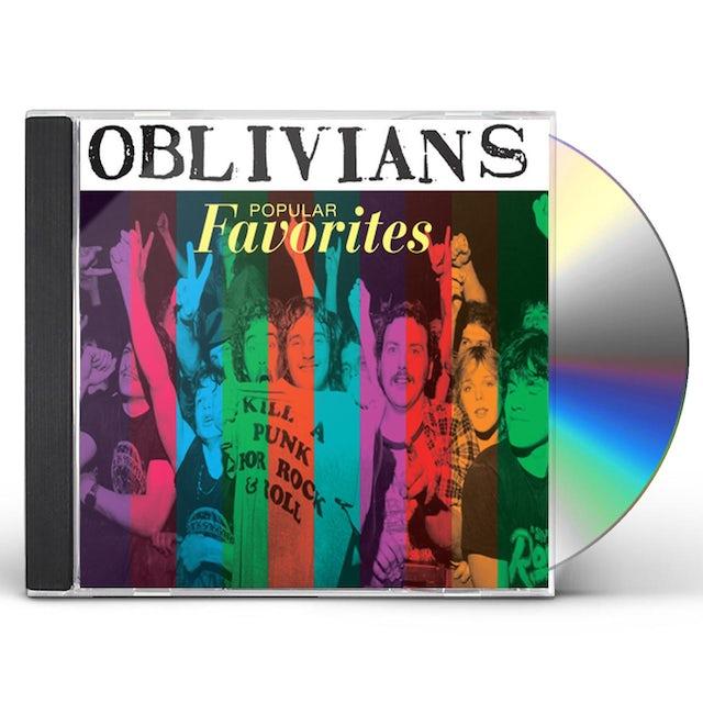Oblivians POPULAR FAVORITES CD