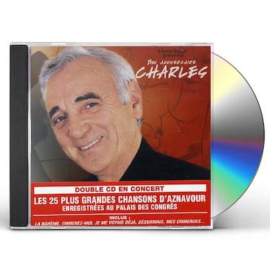 Charles Aznavour LIVE AU PALAIS DES CONGRES 2004 CD