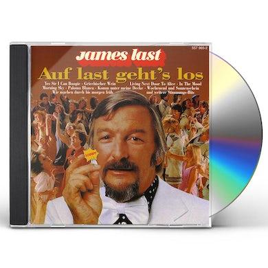 James Last AUF LAST GEHT'S LOS CD