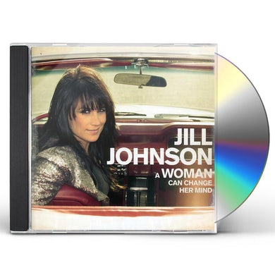 Jill Johnson WOMAN CAN CHANGE HER MIND CD