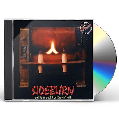SIDEBURN SELL YOUR SOUL FOR ROCK'N'ROLL CD