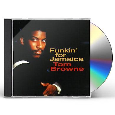 Tom Browne FUNKIN FOR JAMAICA: BEST OF CD