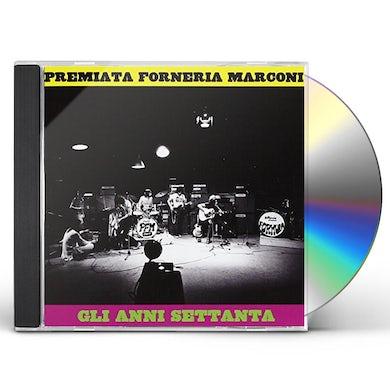 Pfm GLI ANNI SETTANTA CD