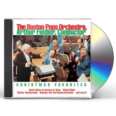 Boston Pops Orchestra Christmas Favorites / Arthur Fiedler, Boston Pops CD