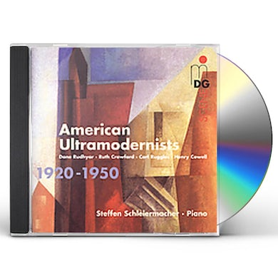 Steffen Schleiermacher AMERICAN ULTRAMODERNISTS CD