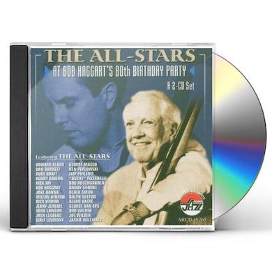 ALL-STARS AT BOB HAGGART'S 80TH BIRTHDAY PARTY CD