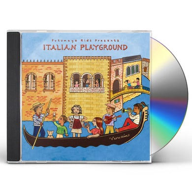 Putumayo Kids Presents ITALIAN PLAYGROUND CD