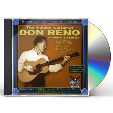 GOLDEN GUITAR OF DON RENO CD