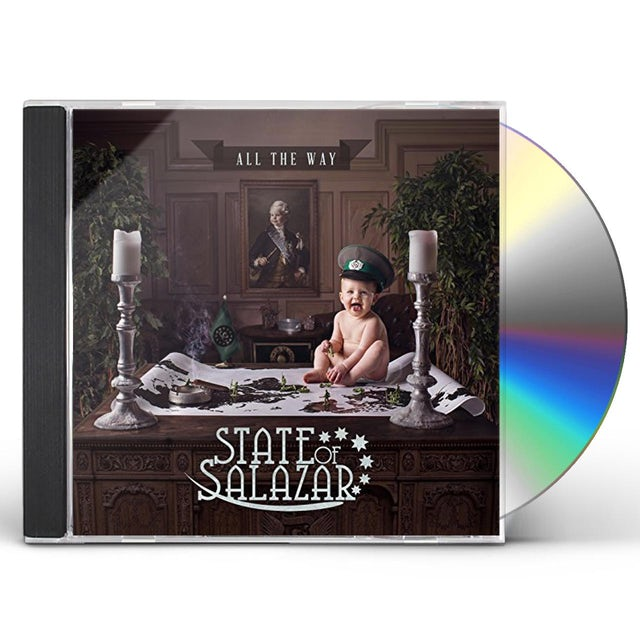 State of Salazar ALL THE WAY CD