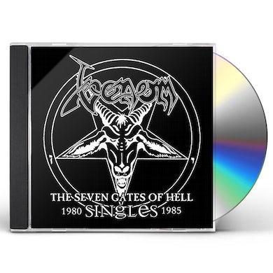 Venom SEVEN GATES OF HELL: SINGLES CD