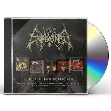 Enthroned BLACKEND YEARS CD