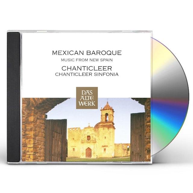Chanticleer MEXICAN BAROQUE MUSIC CD