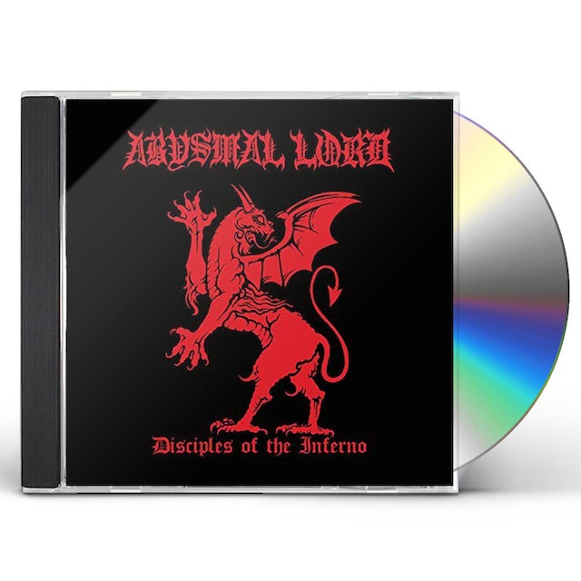 ABYSMAL LORD DISCIPLES OF THE INFERNO CD