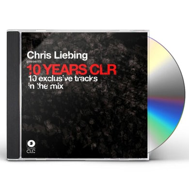 Chris Liebing 10 YEARS CLR CD