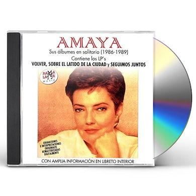 Amaya SUS ALBUMES EN SOLITARIO (1986-1989) CD