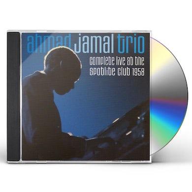 Ahmad Jamal COMPLETE LIVE AT THE SPOTLITE CLUB 1958 CD