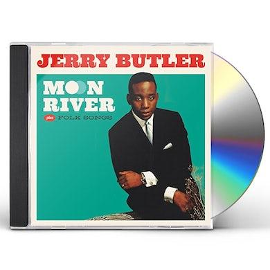 Jerry Butler MOON RIVER / FOLK SONGS CD