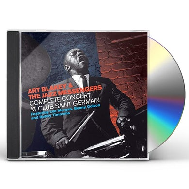 Art Blakey COMPLETE CONCERT AT CLUB SAINT GERMAIN CD