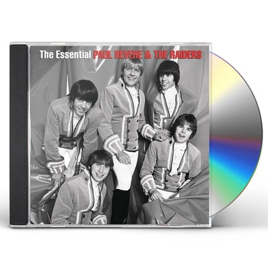 Paul Revere & Raiders ESSENTIAL PAUL REVERE & THE RAIDERS CD
