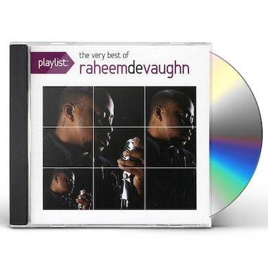 PLAYLIST: THE VERY BEST OF RAHEEM DEVAUGHN CD